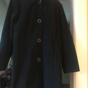 Ann Klein woman's trench coat